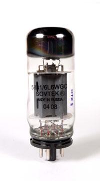 Sovtek 6L6-WGC (AKA 6Π3C-E) Vacuum Tube